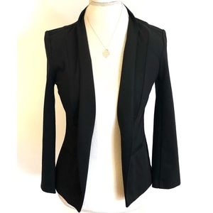 Merona Medium Blazer Black, Soft Stretchy